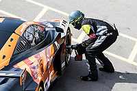 Qualifying pit stop for Morgan Tillbrook & Marcus Clutton, McLaren 720S GT3, Enduro Motorsport during the British GT & F3 Championship on 10th July 2021
