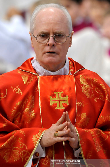 Brazilian cardinal Odilo Pedro Scherrer.Dean of the College of Cardinals Angelo Sodano leads a  during a Mass for the election of a new pope, at the St Peter's basilica on March 12, 2013 at the Vatican. The 115 cardinal electors who pick the next leader of 1.2 billion Catholics in a conclave in the Sistine Chapel will live inside the Vatican walls completely cut off from the outside world until they have made their choice..