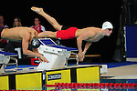 Wales' Otto Putland competes in the men's 100m freestyle semi-final<br /> <br /> Photographer Chris Vaughan/Sportingwales<br /> <br /> 20th Commonwealth Games - Day 3 - Saturday 26th July 2014 - Swimming - Tollcross International Swimming Centre - Glasgow - UK