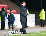 St Johnstone v Ross County...17.11.12      SPL.Derek Adams.Picture by Graeme Hart..Copyright Perthshire Picture Agency.Tel: 01738 623350  Mobile: 07990 594431