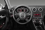 Steering wheel view of a 2003 - 2012 Audi A3 Premium Sportback Hatchback.