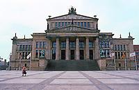 East Berlin: Royal Play House, restored. (Schinkel, 1821).  Platz der Akademie. Photo '87.