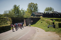 train passing by<br /> <br /> 54th Amstel Gold Race 2019 (1.UWT)<br /> One day race from Maastricht to Berg en Terblijt (NED/266km)<br /> <br /> ©kramon