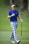 Ian Poulter of England hits the ball during Hong Kong Open golf tournament at the Fanling golf course on 25 October 2015 in Hong Kong, China. Photo by Aitor Alcade / Power Sport Images