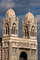 Europe/France/Provence-Alpes-Côte d'Azur/13/Bouches-du-Rhone/Marseille: Cathédrale de la Major ou  Basilique  de Sainte-Marie Majeure qui évoque l'Orient par son style romano-byzantin