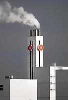 Nederland Utrecht - november 2018.   Douwe Egberts fabriek. In deze koffiebranderij van Douwe Egberts worden koffiebonen vanuit de hele wereld gebrand, gemalen en verder verwerkt. Foto Berlinda van Dam / Hollandse Hoogte
