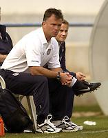 Greg Ryan.11/03/2005 Guia Algarve Portugal.Mundialito Female Women Soccer.United States US vs Finland