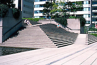Vancouver: Law Courts--Robson Square.  Photo '86.