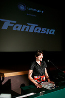 Montreal (Qc) CANADA - jUNE 26 2008 - <br /> fANTASIA Film Festival<br />  news conference.<br /> photo : Pierre Roussel (c)  Images Distribution