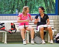26-08-12, Netherlands, Amstelveen, Tennis, NVK, Susan Gadroen(R) en Eveline Hamers