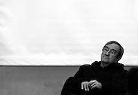 """Portraits Serie #1 - Lucio Dalla ritratto presso il Circolo Cittadino di Lecce in occasione della sua visita nella città per la presentazione del libro """"Gli occhi di Lucio"""""""