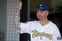 12 Oct 2008: Didier Seminet is seen during game 2 of the french championship finals between Templiers (Senart) and Huskies (Rouen) in Chartres, France. The Huskies win 7-4 over the Templiers.
