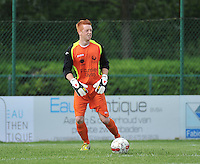 Sporting Menen - KV Oostende : Dylan Olievier<br /> foto VDB / Bart Vandenbroucke