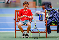 Hilversum, Netherlands, December 3, 2017, Winter Youth Circuit Masters, 12,14,and 16 years, Pim Elbers (NED)<br /> Photo: Tennisimages/Henk Koster