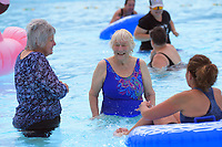 Trusthouse Recreation Centre lido pool re-opening in Masterton, New Zealand on Wednesday, 14 December 2019. Photo: Dave Lintott / lintottphoto.co.nz