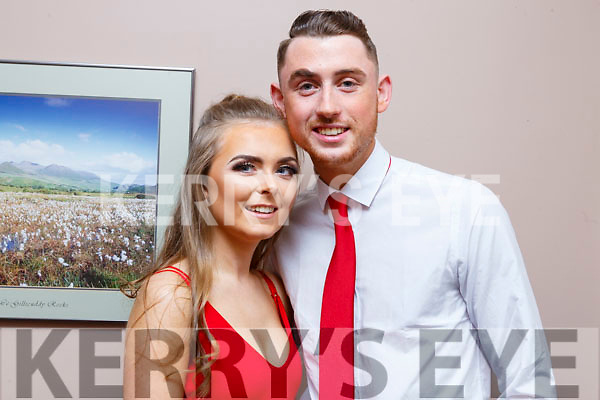 Niall O'Sullivan and Ciara Curran performing in the Ballymac Strictly Love dancing in the Ballygarry House Hotel on Saturday.