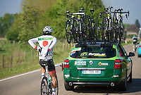 japanese champion Yukiya Arashiro (JAP/Europcar)<br /> <br /> Amstel Gold Race 2014