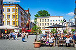 Deutschland, Bayern, Oberbayern, Rosenheim (Altstadt): Straßencafes am Max-Josefs-Platz | Germany, Bavaria, Upper Bavaria, Rosenheim (old town): cafes at Max-Josefs-square