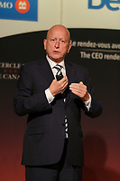 """Michael E. Roach, President and CEO of CGI,  address the Canadian Club of Montreal, monday  September 14, 2015 at the Fairmont The Queen Elizabeth Hotel in Montreal, Canada.<br /> <br /> n October, CGI will be starting its 40th year in business. This is a major milestone in the company's history and Mr. Roach will present CGI's approach to building a prosperous global company in his talk titled """"CGI: 40 Years of Continuous Commitment.""""<br /> <br /> PHOTO : Agence Quebec Presse - Pierre Roussel"""