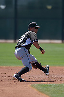 Chicago White Sox shortstop Danny Mendick (68) during a Minor League Spring Training game against the Cincinnati Reds at the Cincinnati Reds Training Complex on March 28, 2018 in Goodyear, Arizona. (Zachary Lucy/Four Seam Images)