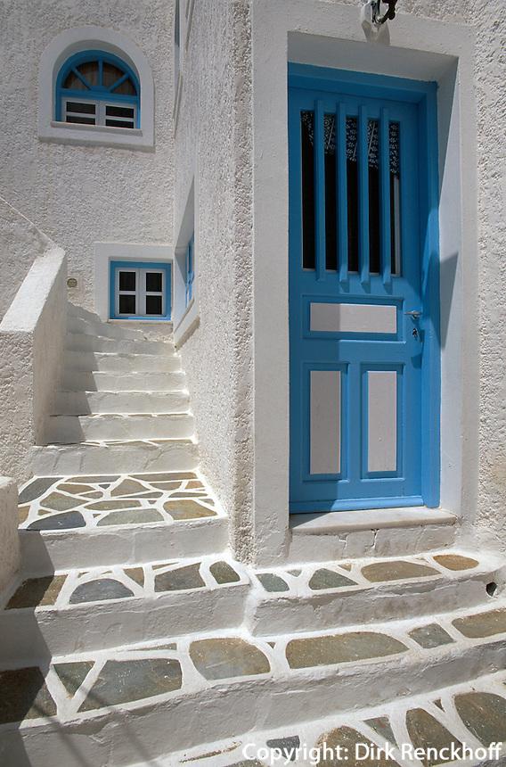Haus in Chora auf der Insel Ios, Griechenland, Europa