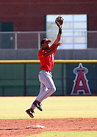 Dwayne Bailey / Los Angeles Angels 2008 Instructional League..Photo by:  Bill Mitchell/Four Seam Images