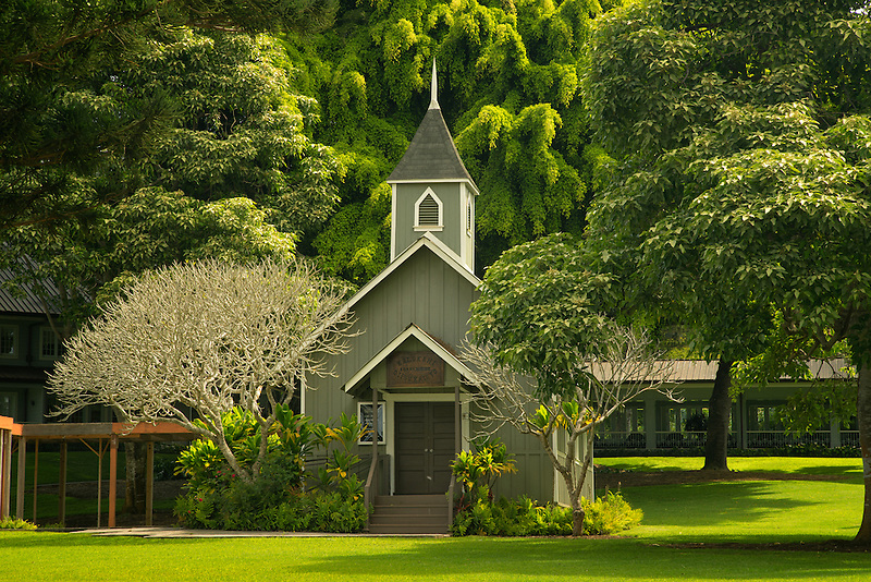 The Ka Lokahi Oka Malamalma Church. Lanai, Hawaii