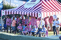 20th December 2020; Hamilton, New Zealand;  Seddon Cricket Club members watch the action, New Zealand Black Caps versus Pakistan, International Twenty20 Cricket. Seddon Park, Hamilton, New Zealand.