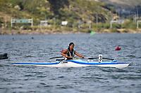 Waka Ama – CSW Champs at Porirua Harbour, Porirua, New Zealand on Saturday 13 March  2021.<br /> Photo by Masanori Udagawa. <br /> www.photowellington.photoshelter.com