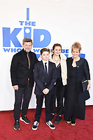 """Andy Serkis, Louis Ashbourne Serkis and Lorraine Ashbourne<br /> arriving for the premiere of """"The Kiid who would be King"""" at the Odeon Luxe cinema, Leicester Square, London<br /> <br /> ©Ash Knotek  D3476  03/02/2019"""