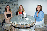 Enjoying the evening in Bella Bia's on Saturday, l to r: Imelda Kissane, Michelle Buckley and Ciara Fitzell (All Duagh).