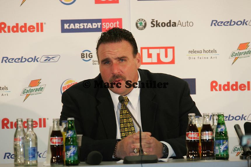 Jim Tomsula (Head Coach Rhein Fire)