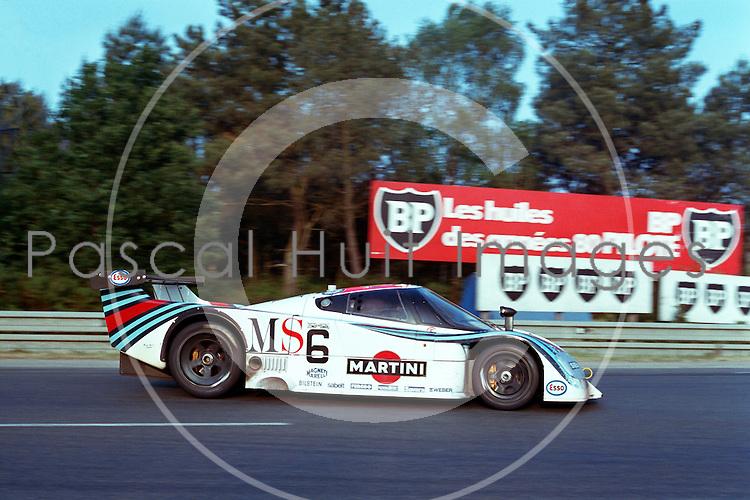 LANCIA LC2-83 #6<br /> Andruet-Nannini-Barilla<br /> 24 HEURES DU MANS 1983