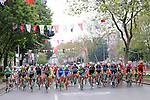 Action from Stage 8 of the 2015 Presidential Tour of Turkey running 124km from Istanbul to Istanbul. 3rd May 2015.<br /> Photo: Tour of Turkey/Mario Stiehl/www.newsfile.ie