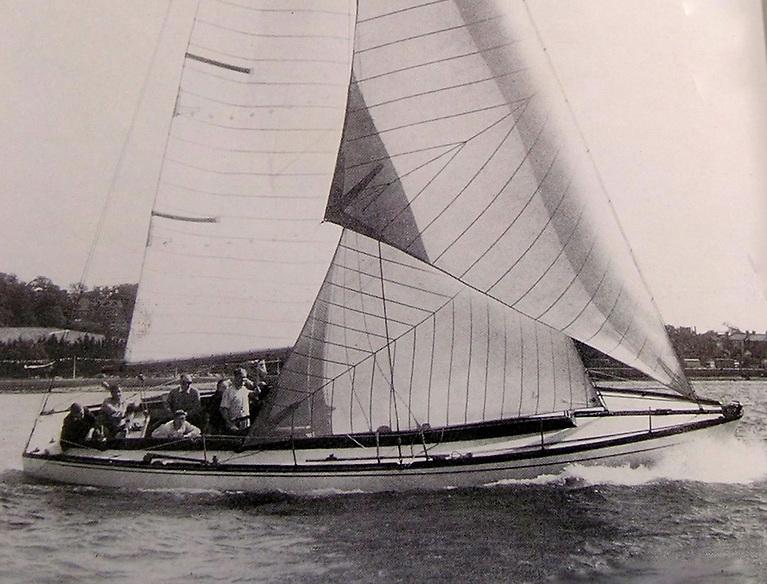 John Illingworth's innovative Myth of Malham was the super-star boat of 1947, '48 and '49.