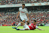 Pictured: Danny Graham of Swansea City in action. Saturday 10 September 2011<br />