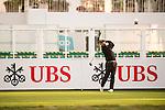 Shiv Kapur of India tees off the first hole during the 58th UBS Hong Kong Open as part of the European Tour on 08 December 2016, at the Hong Kong Golf Club, Fanling, Hong Kong, China. Photo by Marcio Rodrigo Machado / Power Sport Images