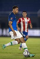 8th June 2021; Defensores del Chaco Stadium, Asuncion, Paraguay; World Cup football 2022 qualifiers; Paraguay versus Brazil;   Danilo of Brazil