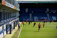 17th April 2021; Kenilworth Road, Luton, Bedfordshire, England; English Football League Championship Football, Luton Town versus Watford; Empty executive boxes at Kenilworth Road due to the pandemic