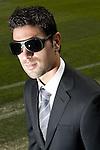 Getafe's Jaime Gavilan during sunglasses fashion shoot. October 07, 2010. (ALTERPHOTOS/Alvaro Hernandez)