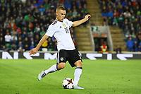 Joshua Kimmich (Deutschland, Germany) - 05.10.2017: Nordirland vs. Deutschland, WM-Qualifikation Spiel 9, Windsor Park Belfast