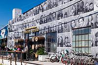 Wicked Weed Brewing brewpub and Funkatorium restaurant on the BeltLine trail, Atlanta, Georgia, USA.