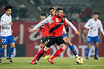 Gyeongnam FC (KOR) vs Shandong Luneng FC (CHN) during their AFC Champions League 2019 Group Stage Group E match at the Changwon Football Center on 5th March 2019, in Changwon, South Korea. Photo by Victor Fraile / Power Sport Images