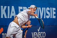 Netherlands, September 12,  2021, Naaldwijk KIA Competition mixed, premier league, LTC Naaldwijk vs TC Leimonias, mens single:  Michiel de Krom (NED)<br /> Photo: Henk Koster/tennisimages.com