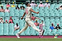 9th January 2021; Sydney Cricket Ground, Sydney, New South Wales, Australia; International Test Cricket, Third Test Day Three, Australia versus India; Mitchell Starc of Australia bowling
