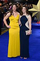 "Abbie Scott and Sarah Hunter<br /> arriving for the ""Captain Marvel"" European premiere at the Curzon Mayfair, London<br /> <br /> ©Ash Knotek  D3484  27/02/2019"
