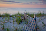 A summer sunset at Sandy Neck Reserve, Barnstable, Cape Cod, MA, USA