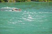 Whitewater rafting down the Kenai River, Kenai Peninsula, Alaska