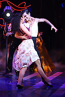 """Jonny Labey and Zizi Strallen<br /> appear in """"Strictly Ballroom the musical"""" at the Piccadilly Theatre, London<br /> <br /> ©Ash Knotek  D3396  17/04/2018"""