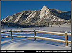 Write 'lines' and 'framing' on your shot list and you'll envision many more compositions. Horizontal lines are static and act like frames on a picture. Diagonal lines are dynamic and draw the viewer into the image. Colorado private tours.
